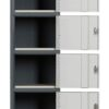 Contemporary Six Tier Locker