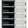 Contemporary Ten Tier Locker