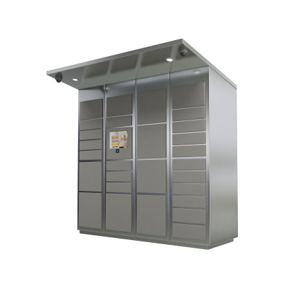 28-Door-Parcel-Locker-Outdoor