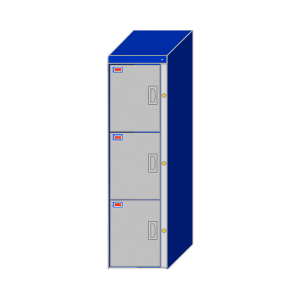 3 Door Locker Cabinet