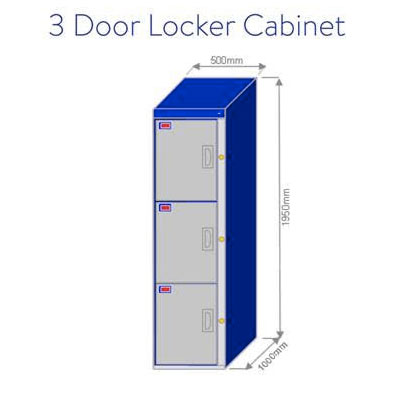 3-Door-Locker-Cabinet