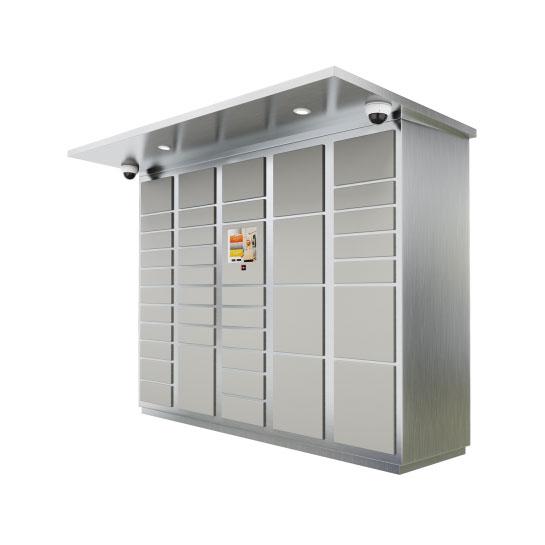 39-Door-Parcel-Locker-Outdoor