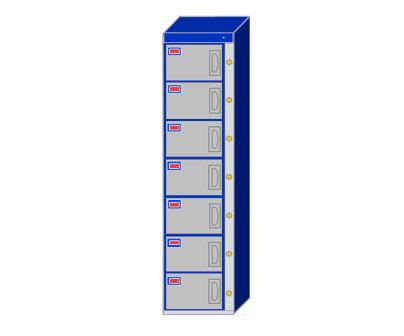 7 Door Locker Cabinet