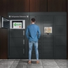 8 Door Refrigerated Locker Plus Kiosk