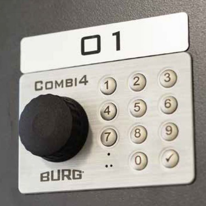 Combi 4 Electronic Digital Key Pad Locks