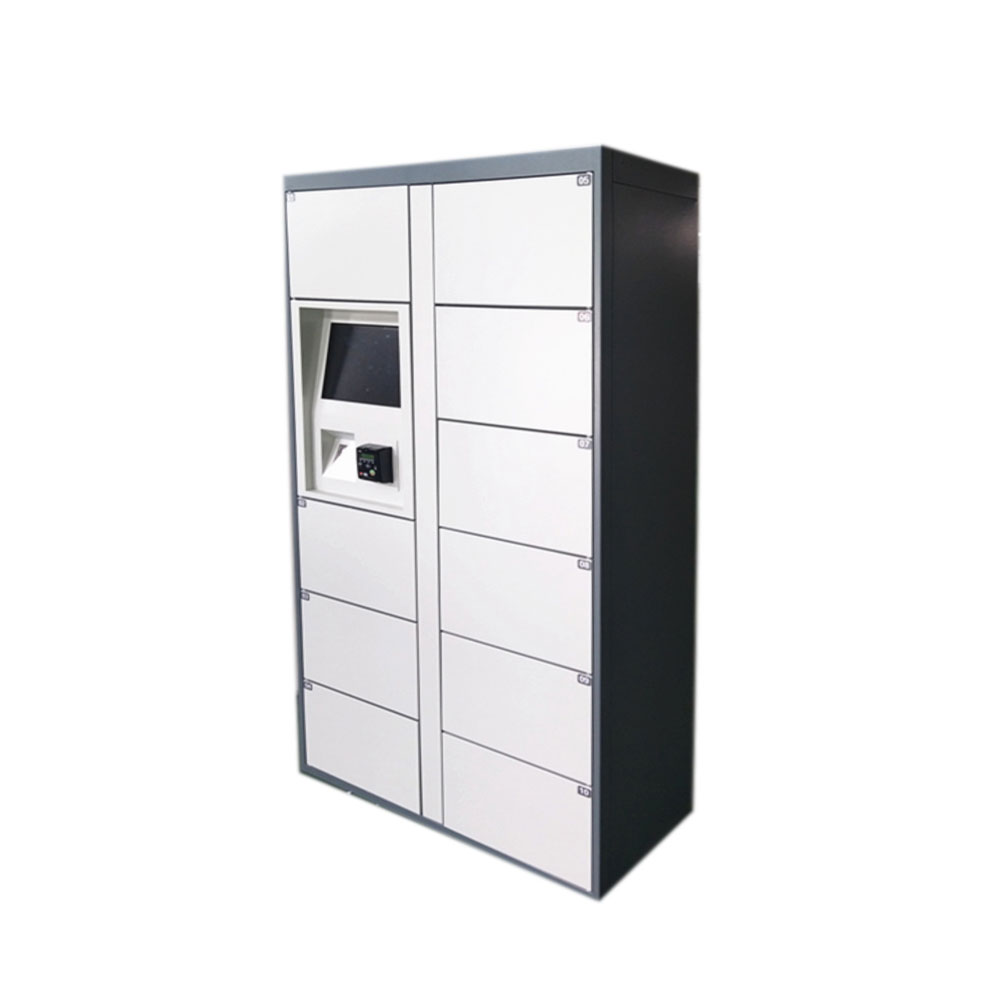 Electronic Smart Pin Code Airport Luggage Storage Locker with Card Payment and remote management platform