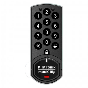 MiniK10P Digital Cam Lock with integrated PROX RFID Card Reader