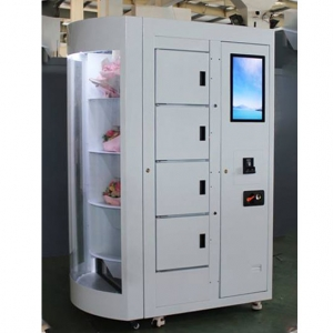 "Touch Advertising Screen 19 "" Mini Mart Vending Machine"