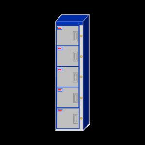 Water-Park-Locker-5-Door-Locker-Cabinet