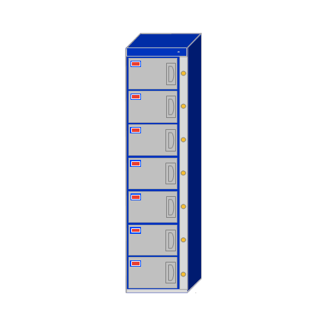 Water-Park-Locker-7-Door-Locker-Cabinet