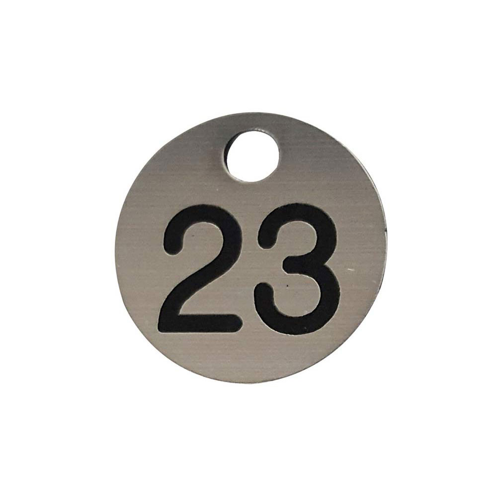 Numbered Key Disc – 30mmD
