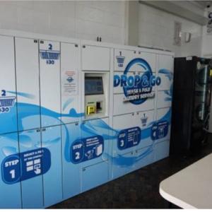 Drop and Go Laundry Lockers