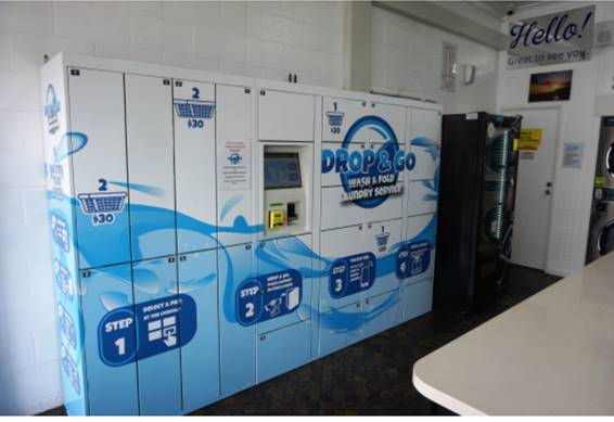 Drop and Go Laundry Lockers